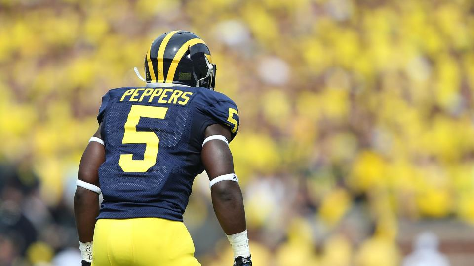 Michigan's Jabrill Peppers expected to play vs. Notre Dame despite injury