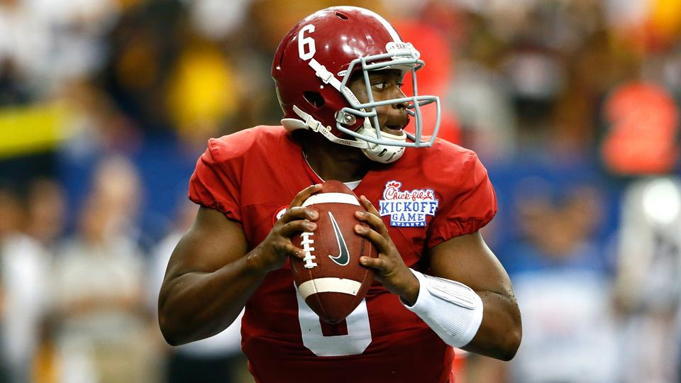 Alabama QBs Blake Sims, Jacob Coker still listed as depth chart co-starters
