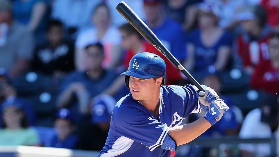 Dodgers call up top prospect Joc Pederson