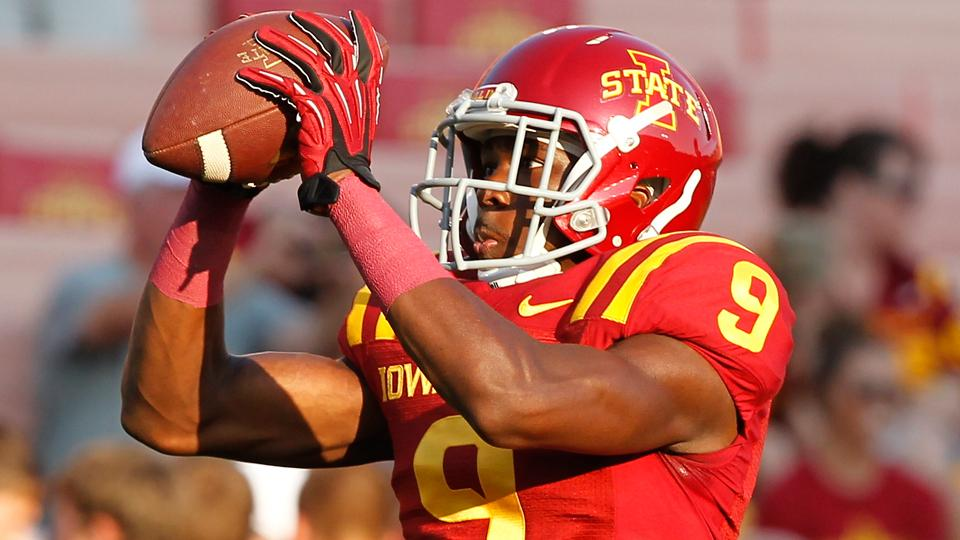 Top Iowa State WR Quenton Bundrage out for the season with torn ACL