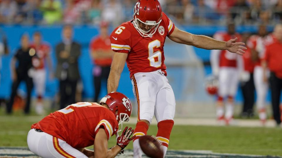 Report: Titans sign kicker Ryan Succop to one-year deal