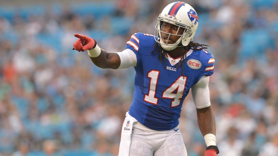 Bills receiver Sammy Watkins returns to practice after re-injuring ribs
