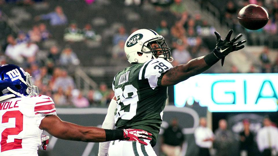 Report: Jets CB Antonio Allen medically cleared, will start Sunday