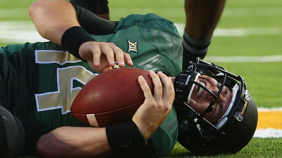 Baylor quarterback Bryce Petty hopes to play Saturday after back injury