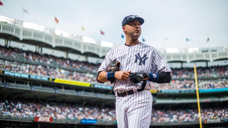 Yankees will wear patch honoring Derek Jeter through end of season