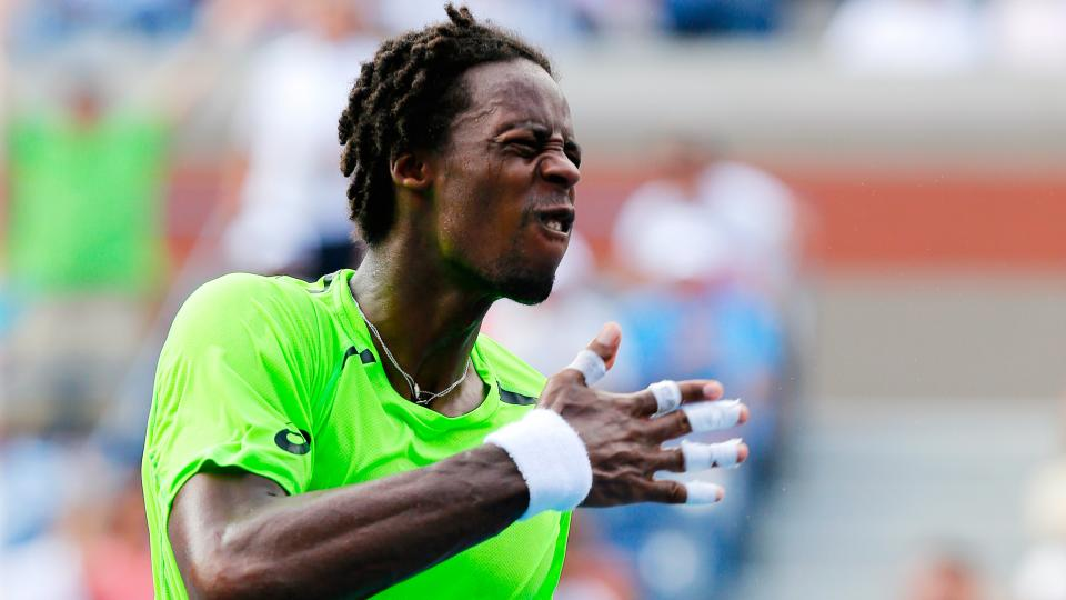 Watch: Gael Monfils gets angry, tanks point in U.S. Open win