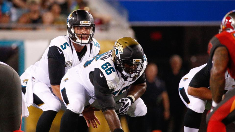 Jaguars name Jacques McClendon starting center for season opener