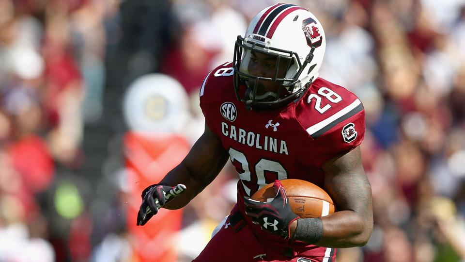 South Carolina's Steve Spurrier thinks Mike Davis will be available Saturday