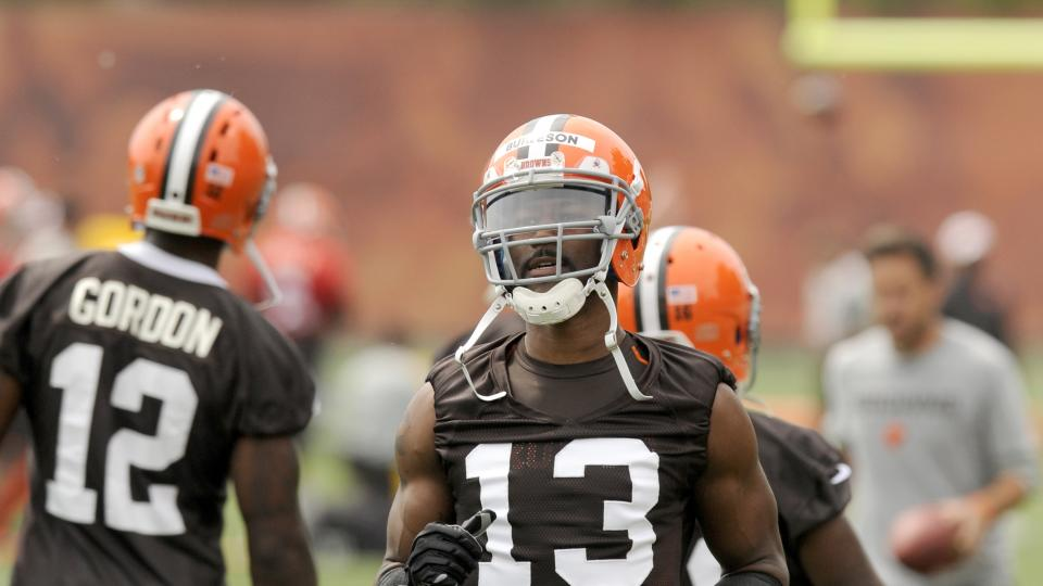 Nate Burleson (pictured), who was cut by the Browns on Saturday, predicts big things for his ex-teammate