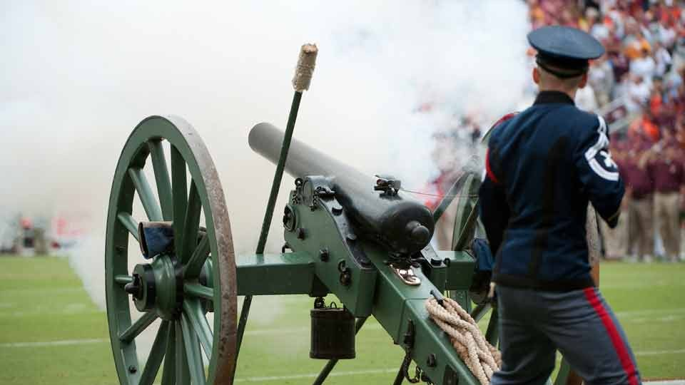 Team traditions: Virginia Tech's cannon deeply rooted in history