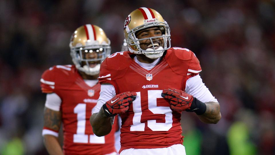 Report: Niners WR Michael Crabtree has unknown status for Week 1