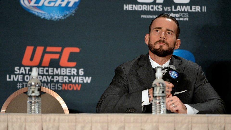 Q&A: CM Punk talks about training for UFC, transition from WWE