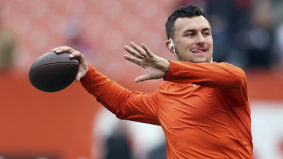 A Cleveland TV station is stalking Johnny Manziel