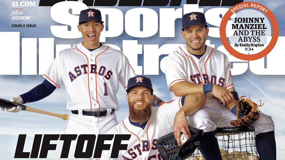 SI's MLB playoff teams featured on baseball preview issue cover