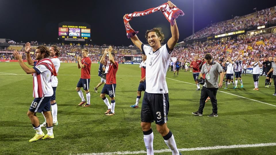 How did Columbus become the unofficial home of U.S. Soccer?