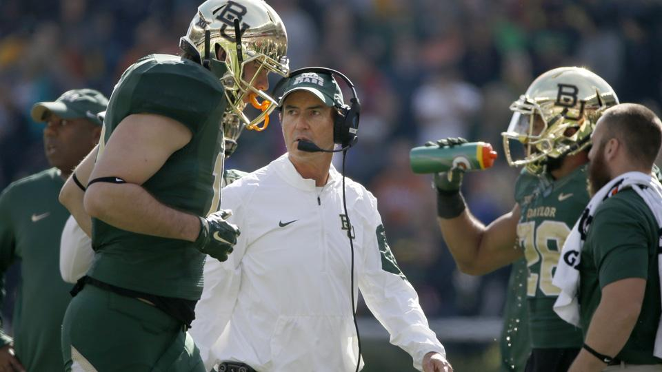 Baylor players react to Art Briles termination