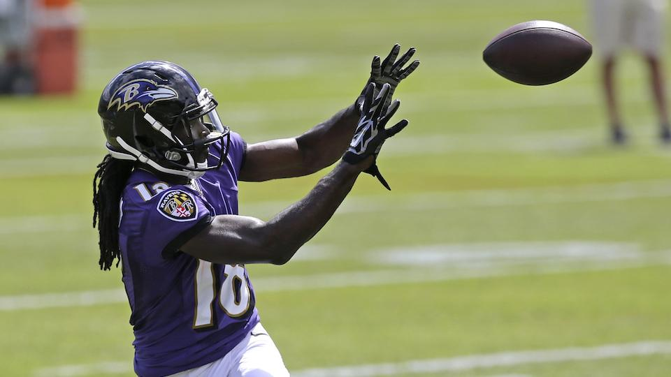 Ravens WR Perriman partially tears ACL