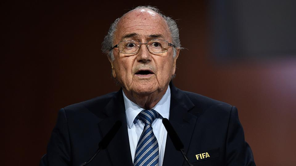 Sepp Blatter says he saw a rigged draw for a European competition