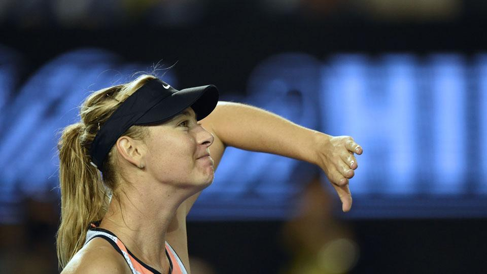 Maria Sharapova tries to say she was picked on for being rich