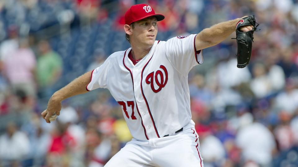 Nationals P Stephen Strasburg placed on disabled list