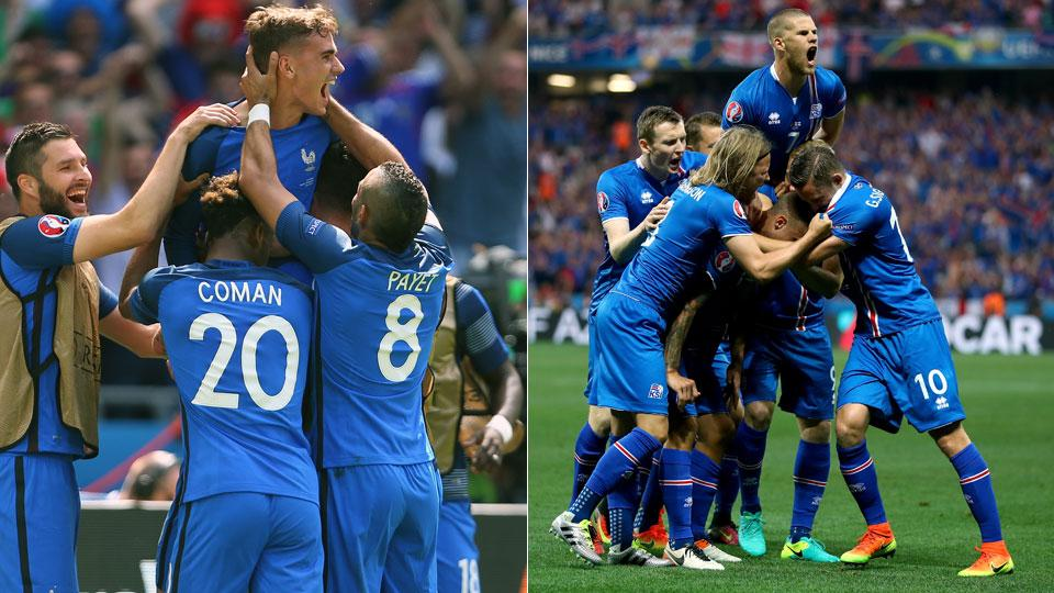 France vs Iceland: Follow Euro 2016 quarterfinals (LIVE)
