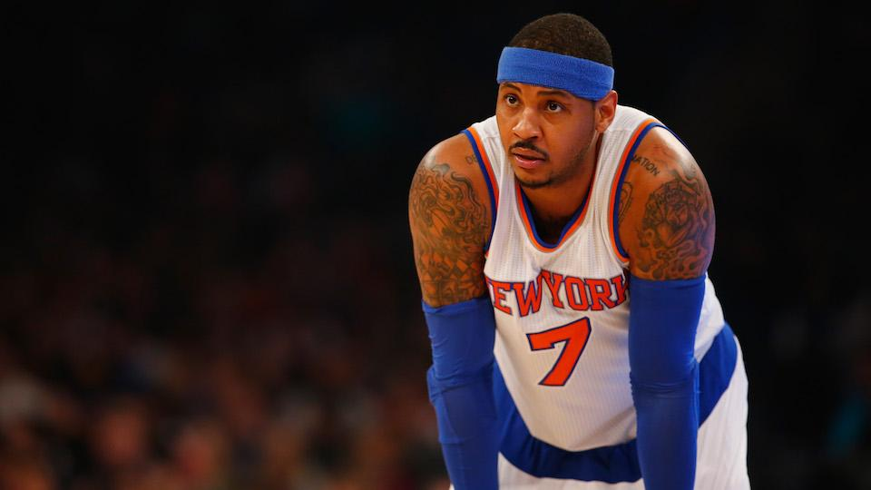 Knicks' Anthony: He'll lead charge for social change