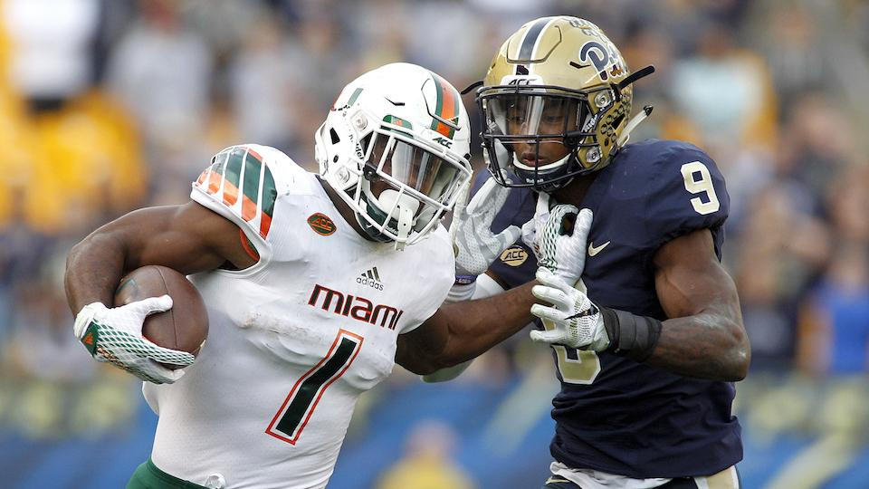 DUI charge dropped against Miami RB Mark Walton