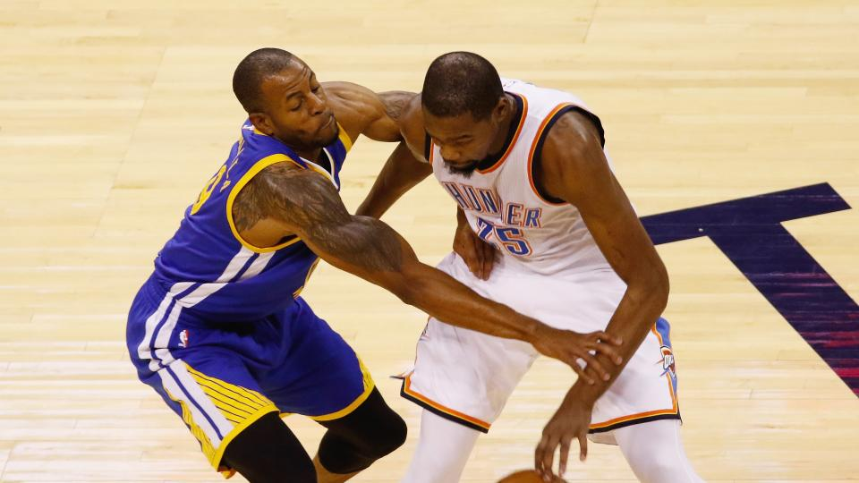 Andre Iguoudala says Thunder were better than Cavaliers or Warriors
