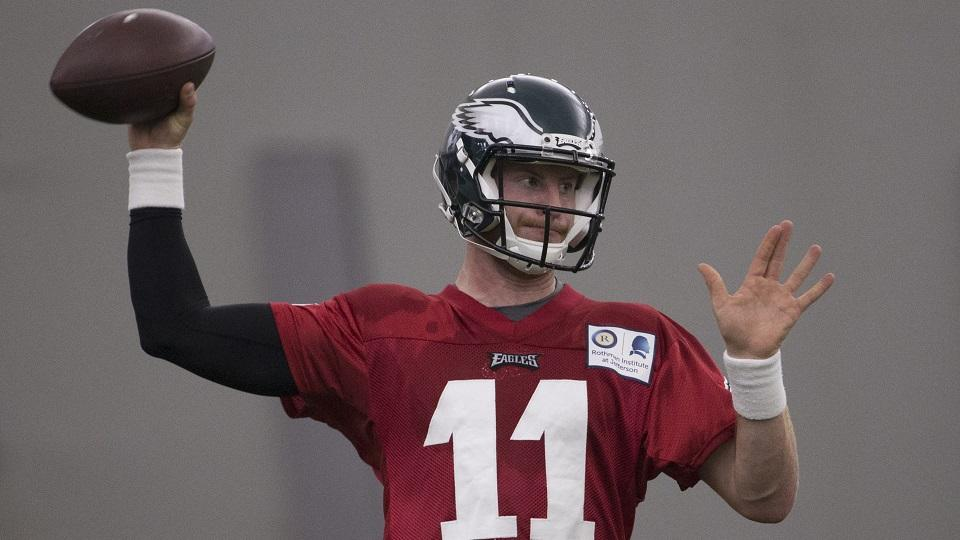 Eagles expect Carson Wentz to be inactive on game day
