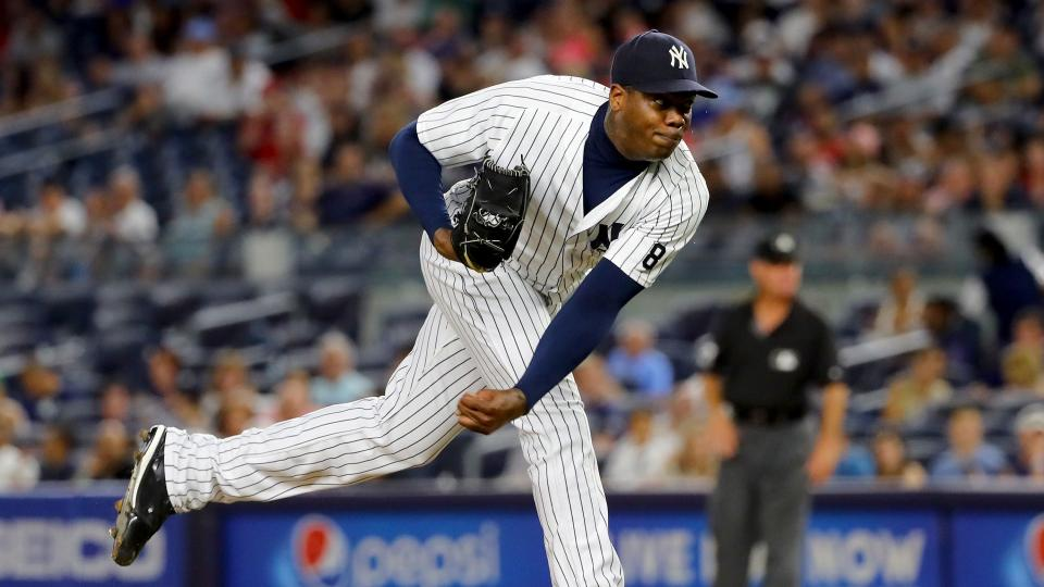 Gleyber Torres the big prize for Yankees in Aroldis Chapman trade