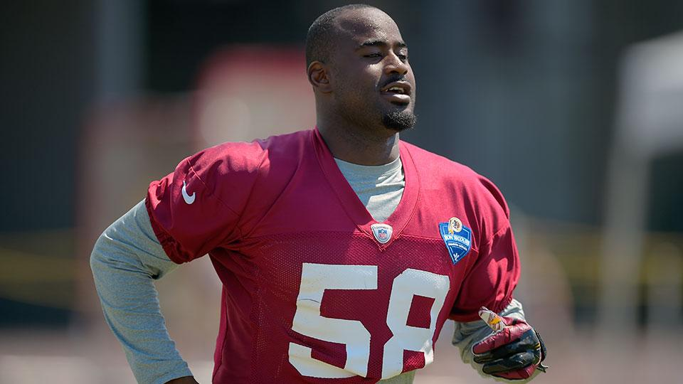 Redskins LB Junior Galette tears Achilles, out for 2016 season