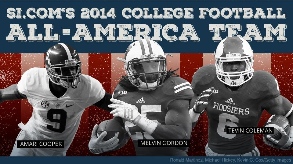 Melvin Gordon, Amari Cooper lead SI.com's 2014 All-America Team