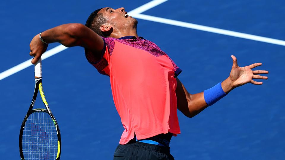 Nick Kyrgios upsets No. 21 Mikhail Youzhny in U.S. Open first round