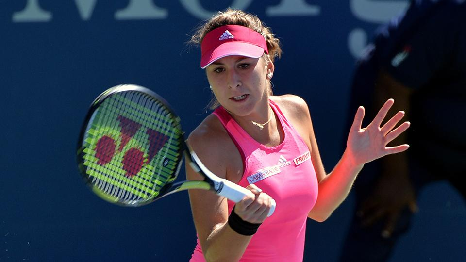 Get to know the youngest player left in the U.S. Open, 17-year-old Bencic
