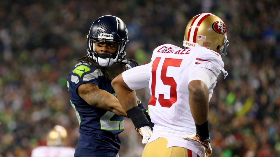 Richard Sherman on Michael Crabtree: I hope to 'choke him out'