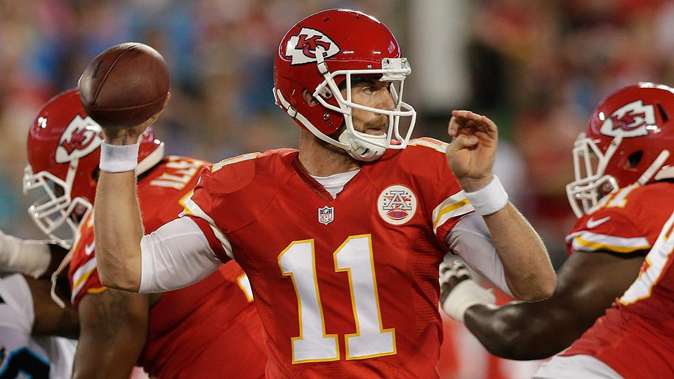 Alex Smith finally got his payday from the Chiefs.