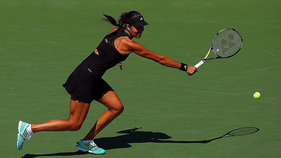 Ana Ivanovic has played well in 2014, but once again faced an early exit at a Grand Slam event.