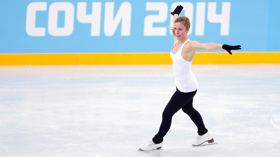 Figure skater Ashley Wagner will represent the United States in the women's short program.