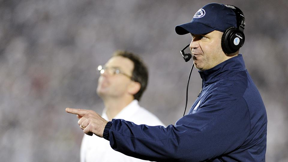 Bill O'Brien will leave Penn State to coach the NFL's Houston Texans. (Centre Daily Times/MCT/Getty Images)