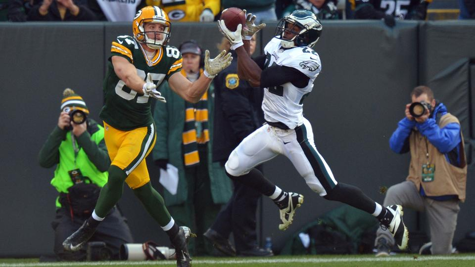 Philadelphia cornerback Brandon Boykin led the NFL with six slot interceptions in 2013.