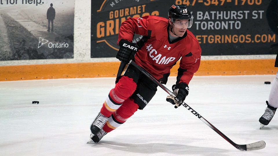 Mike Cammalleri, who is getting ready for his first season the with New Jersey Devils, was one of the stars at this year's BioSteel Camp in Toronto.