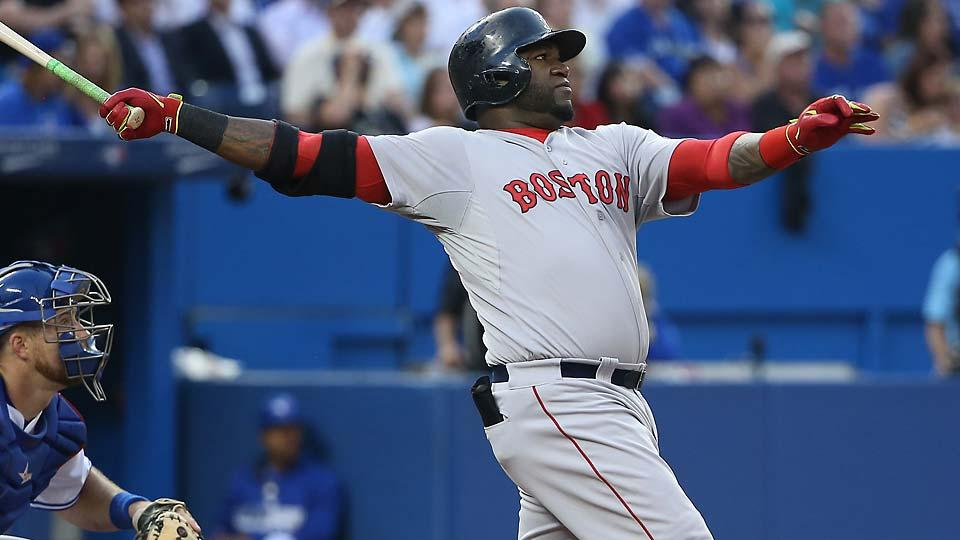 David Ortiz hit a three-run homer on July 27, giving him five home runs and 12 RBI in his past seven games.