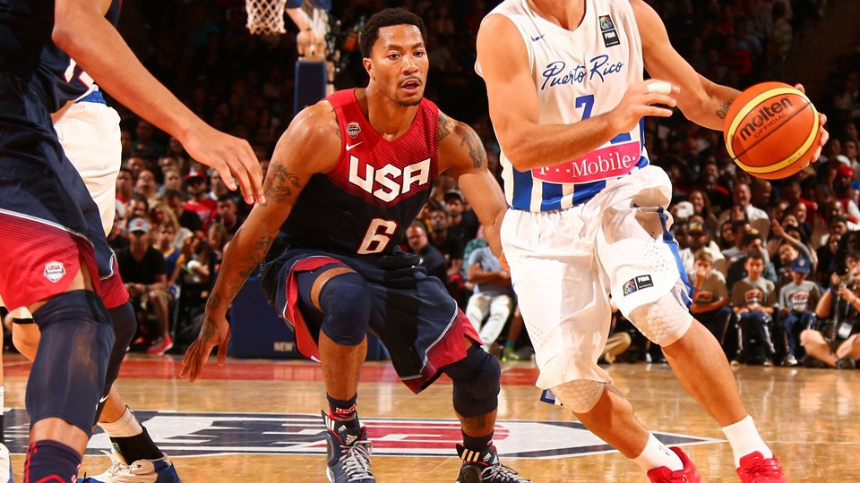 Derrick Rose inches closer to Team USA after showing vs. Puerto Rico