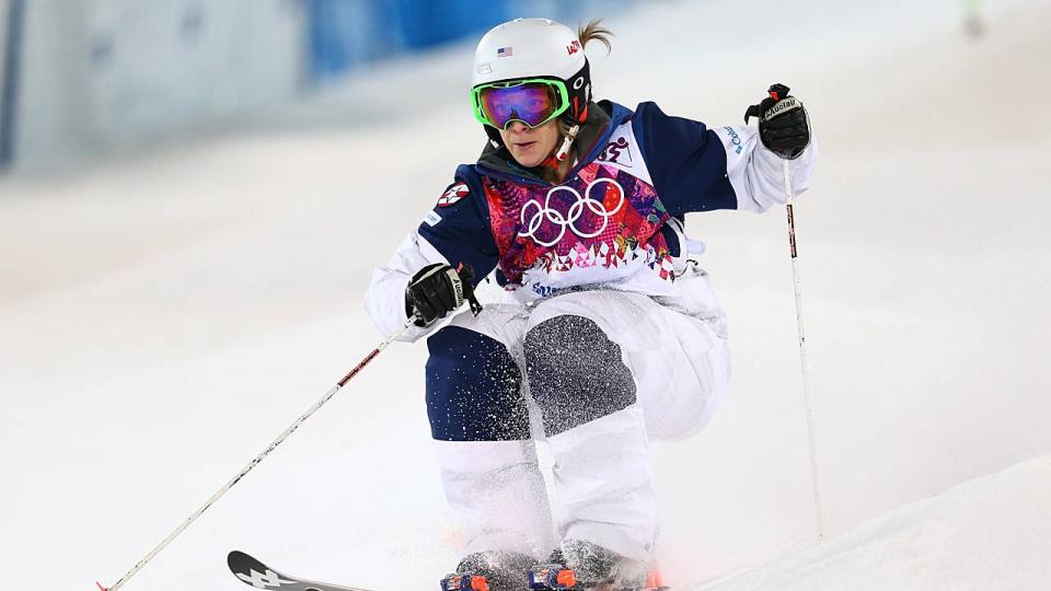 Coming off a gold medal at the 2010 Vancouver Olympics, Hannah Kearney is looking to defend her podium spot in 2014.