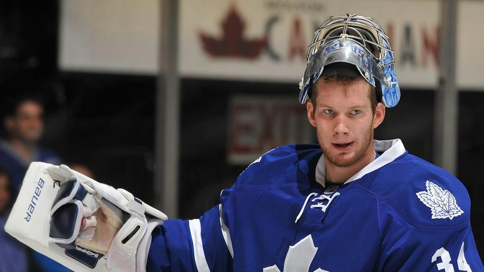 Maple Leafs agree to two-year deal with goalie James Reimer