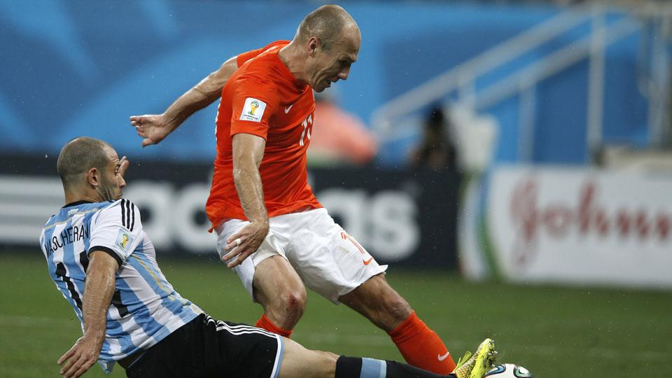 Javier Mascherano says he tore his anus during win over Netherlands