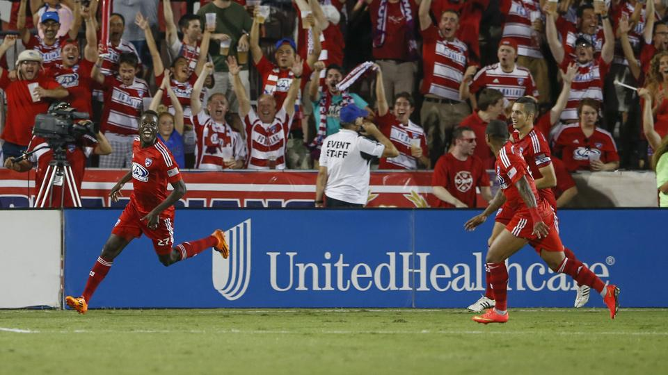 FC Dallas tops Real Salt Lake to extend unbeaten streak, tie for first in West