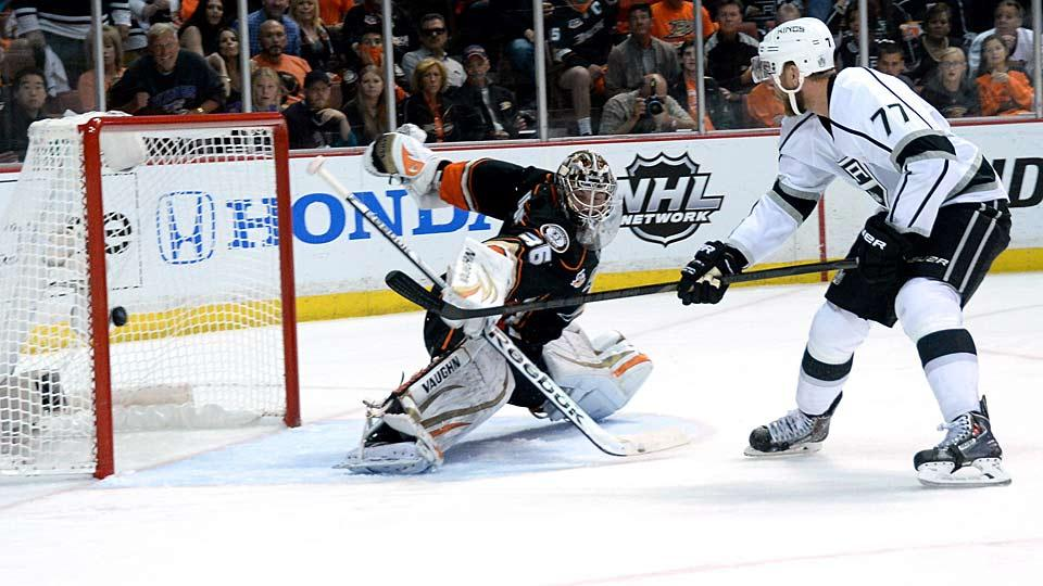 One of the league's top young goalies, John Gibson will be counted on to help the Ducks hold off the defending Cup champion Kings in the Pacific Division.
