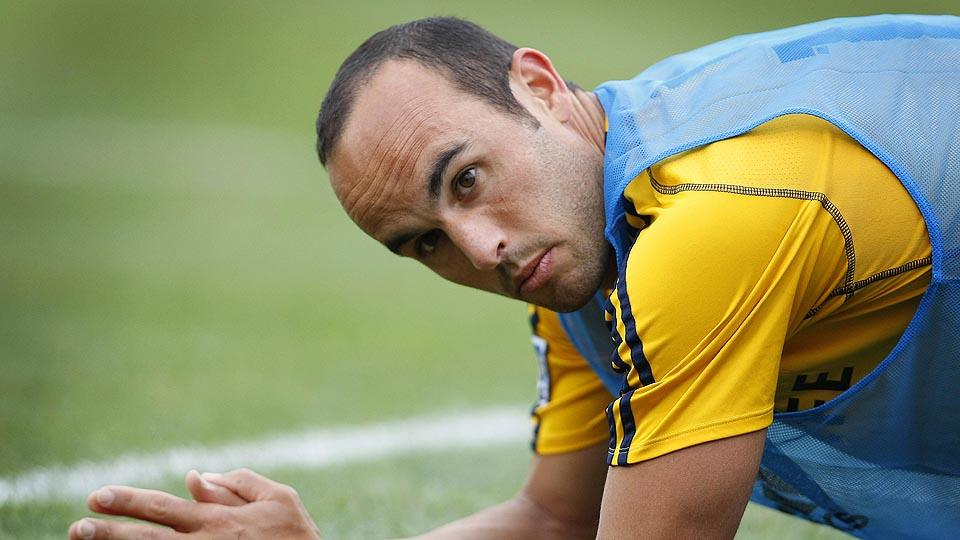 Landon Donovan's farewell tour moved through Columbus on Saturday in what will be his final appearance in the city.