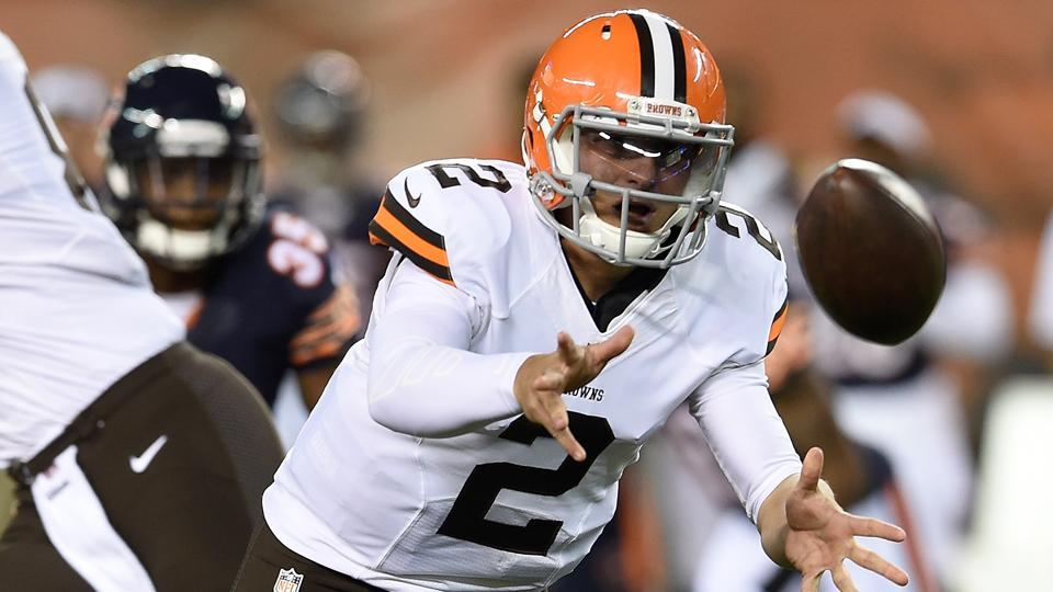 Johnny Manziel had another up-and-down day.